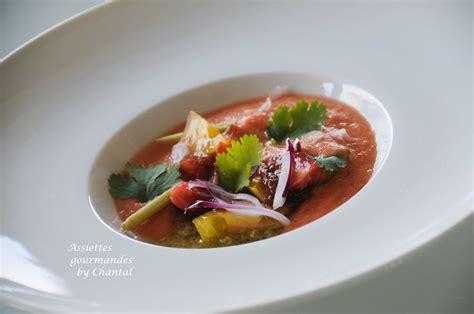 cuisine ris de veau gaspacho recette de william ledeuil