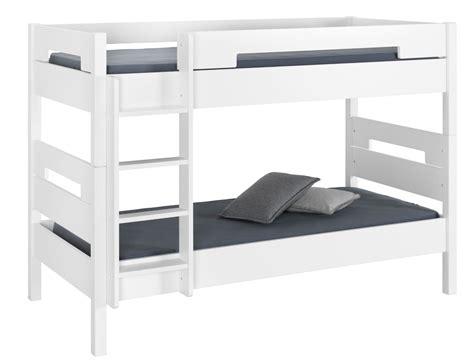 chambre jumeaux lit superposé blanc