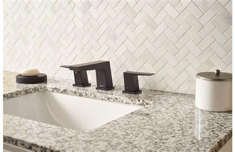 greecian white herringbone pattern granite countertops