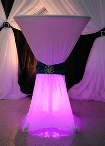 Spandex Cocktail Table Covers Spandex Highboy Table Cover