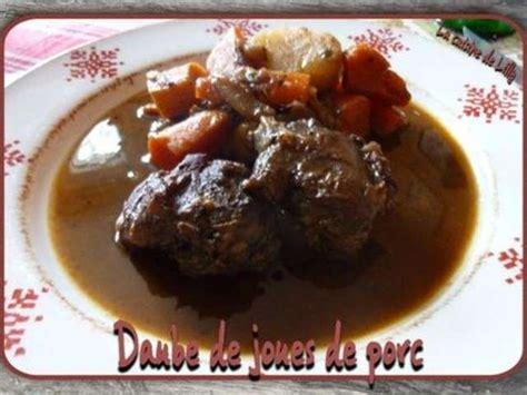 cuisine joue de porc les meilleures recettes de porc et joues de porc