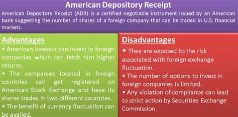 american depository receipt adr  process