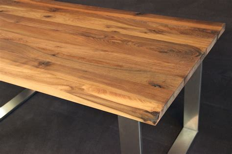 Welches Holz Für Tischplatte by Tischplatte Massivholz Kaukasischer Nussbaum Rustikal Ohne