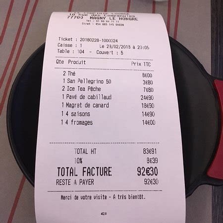 Comptoir Lounge Magny Le Hongre by Le Comptoir Lounge Magny Le Hongre Restaurant Reviews