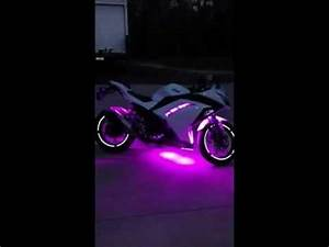 Image Gallery ninja motorcycle neon light