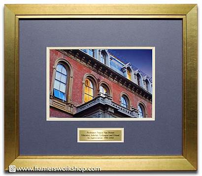 Plaque Framed Photograph Hall Brass Examples South
