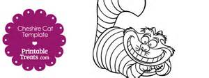 Cheshire Cat Pumpkin Carving Stencil by Printable Cheshire Cat Template