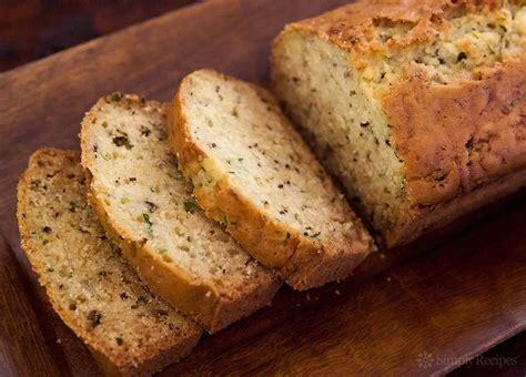 zucchini bread pictures lemon rosemary zucchini bread recipe simplyrecipes com