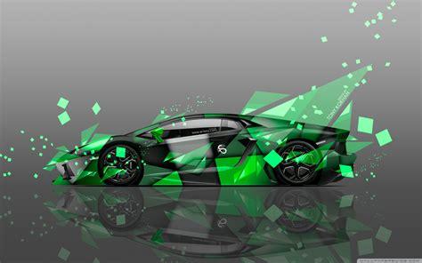 Lamborghini Aventador Side Aerography Car Design By Tony