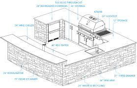 outdoor kitchen dimensions google search outdoor