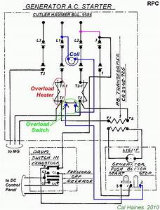 10ee Mg Starter Circuit With Cutler-hammer Contactor