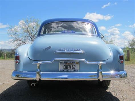 Buy Used 1952 Chevrolet Styleline Deluxe 3.8l Powerglide