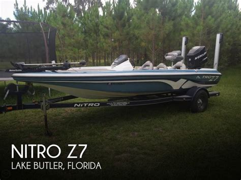 Nitro Z7 Bass Boat by Nitro Z7 For Sale In Lake Butler Fl For 17 000 Pop Yachts