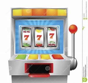 Slot fruit machine stock vector. Illustration of handle ...