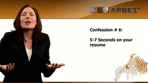 Resume 7 Seconds by Confession 6 5 7 Seconds On Your Resume