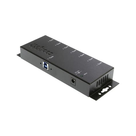 Port Metal by 7 Port Usb 3 0 Metal Hub With Surge Protection Coolgear