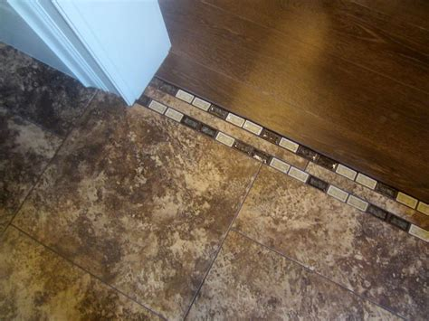 transition between wood and tile like for the home