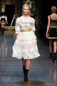 Dolce gabbana fall winter 2012 2013 wedding inspirasi for Dolce and gabbana wedding dress
