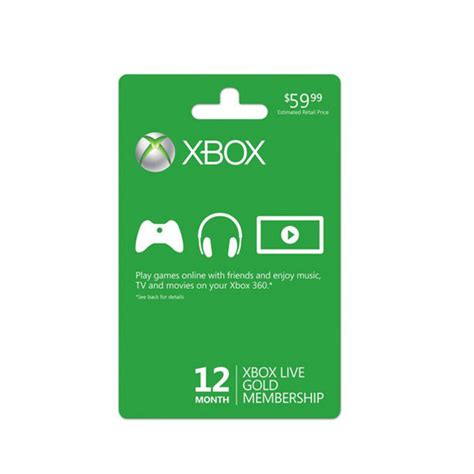 1 xbox live xbox one membership card for 1 year price in pakistan buy xbox one live gold membership card