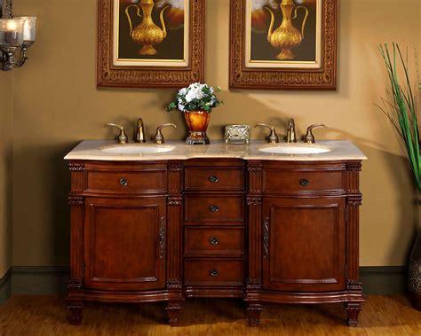 free sink with granite countertop 60 quot 0722tr double sink bathroom vanity cabinet
