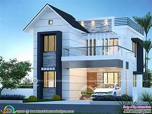 3, Bhk, Mixed, Roof, Modern, Home, 1600, Square, Feet