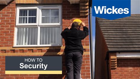 How To Install A Yale Easy Fit Alarm With Wickes  Youtube
