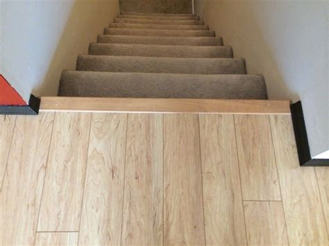 pergo flooring stairs how to install pergo laminate stair nose stairnose house update pinterest laminate stairs