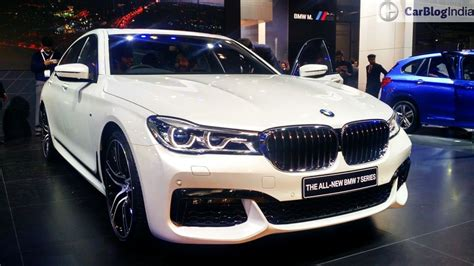 Bmw Models And Prices by New 2016 Bmw 7 Series India Launch Price Review Features