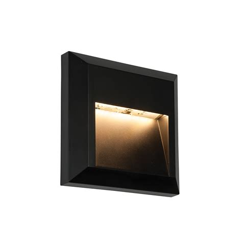 endon lighting severus square indirect 1w outdoor led wall