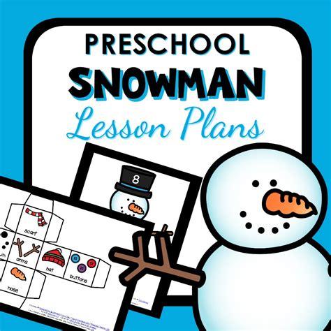 snowman theme preschool classroom lesson plans preschool 507 | Preschool Snowman Lesson Plans2