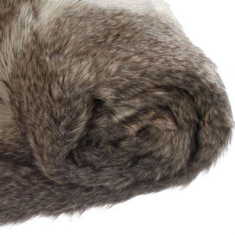 plaids fausse fourrure pour canap plaid imitation fourrure renard plaid fausse fourrure