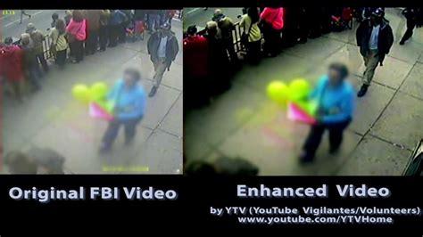NEW ENHANCED VIDEO of TRUE Boston Marathon Bomb Suspects ...