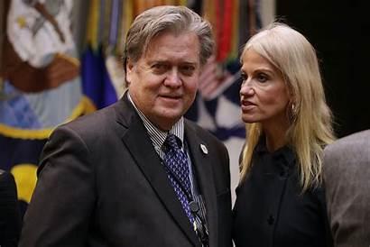 Bannon Steve Conway Arrested Trump Kellyanne Mercer