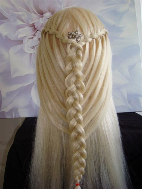 Braids And Hairstyles by Feather Waterfall Twists Into Mermaid Braid Hair