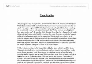 Thesis Example For Compare And Contrast Essay Close Reading Essays Business Law Essays Proposal Essay Template also Essay About Health Close Reading Essays Essay On Early Man Close Reading Essays Example  English Composition Essay