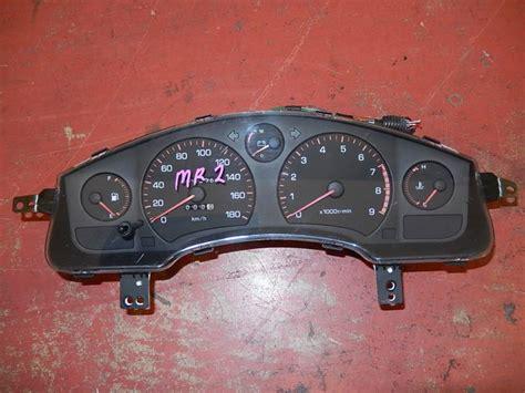 manual repair free 1993 toyota mr2 instrument cluster find jdm toyota mr2 sw20 mr 2 manual 5speed gauge cluster speedometer 1991 1999 motorcycle in