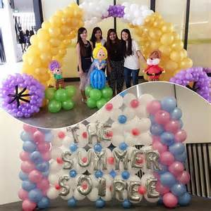 Balloon Backdrop Decoration
