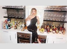Khloe Kardashian Poses on Her Bar to Model Good American