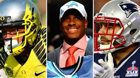 nfl  college football players set    cool