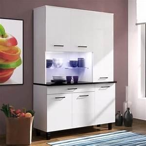 Buffet Blanc Pas Cher : buffet de cuisine blanc pas cher ~ Teatrodelosmanantiales.com Idées de Décoration
