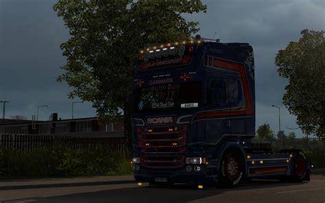 intveen scania rjl truck skin euro truck simulator  mods