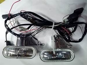 Engine Guard Mounted Fog Lamps Kit