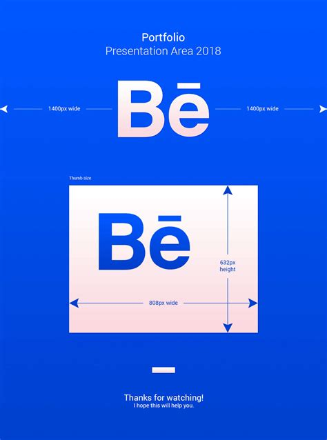 Behance Dimensions / 2018 Update on Behance