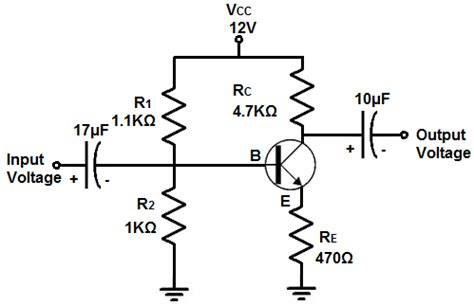 How Build Voltage Amplifier Circuit With Transistor