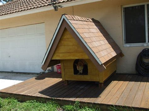 Wooden Dogcat House In South Florida  Custom Woodwork