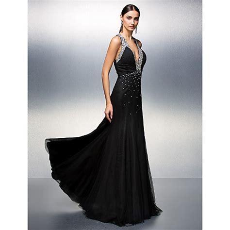 prom formal evening dress black  sizes petite