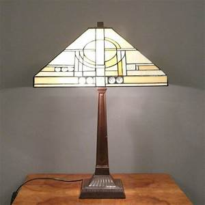 Lampe Art Deco : lampe tiffany art d co chicago lustres lampadaires ~ Teatrodelosmanantiales.com Idées de Décoration