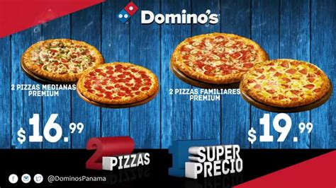 Domino's - 2 Pizzas a 1 Super Precio - YouTube