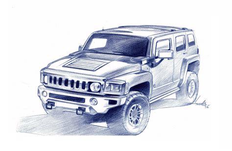 Hummer Drawing At Getdrawings.com