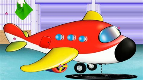Airplane Cartoon Animated Film Clip Art